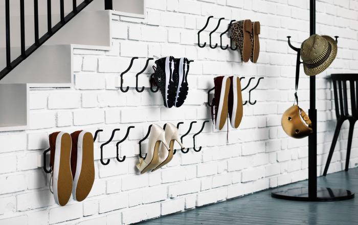 7 ideas creativas para guardar los zapatos